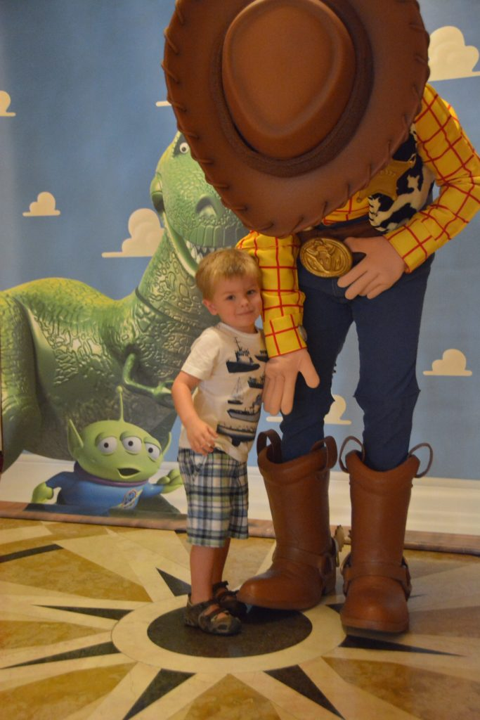 Woody & Sawyer, Disney Dream