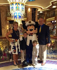 Disney Dream Cruise Ship - Mickey Deck 5