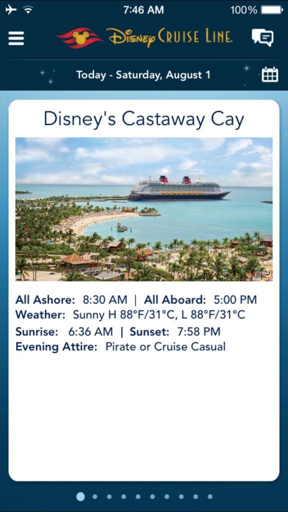 Disney Dream Cruise, Castaway Cay