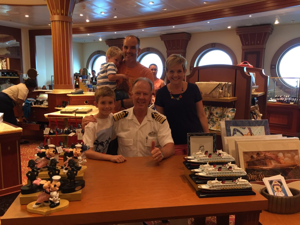 Disney Dream Cruise Ship, Captain Henry