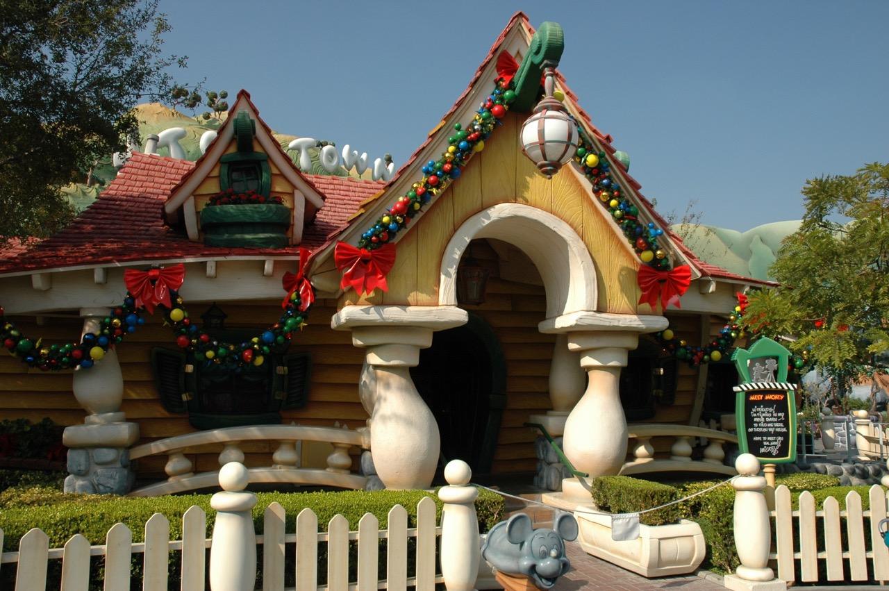 Disneyland Park Toontown Mickey's House