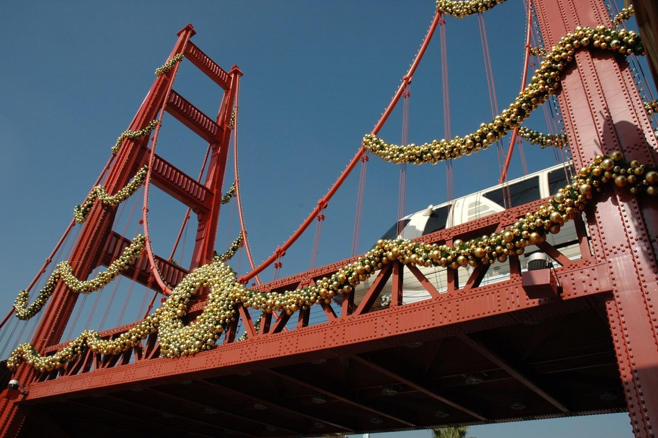 Disney's California Adventure Golden Gate Bridge
