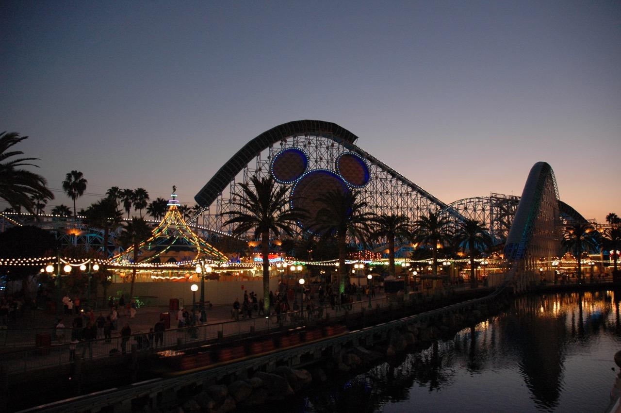 Disney's California Adventure Park Sunset