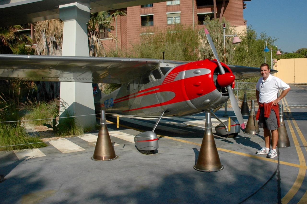 Disney's Californian Adventure Airplane