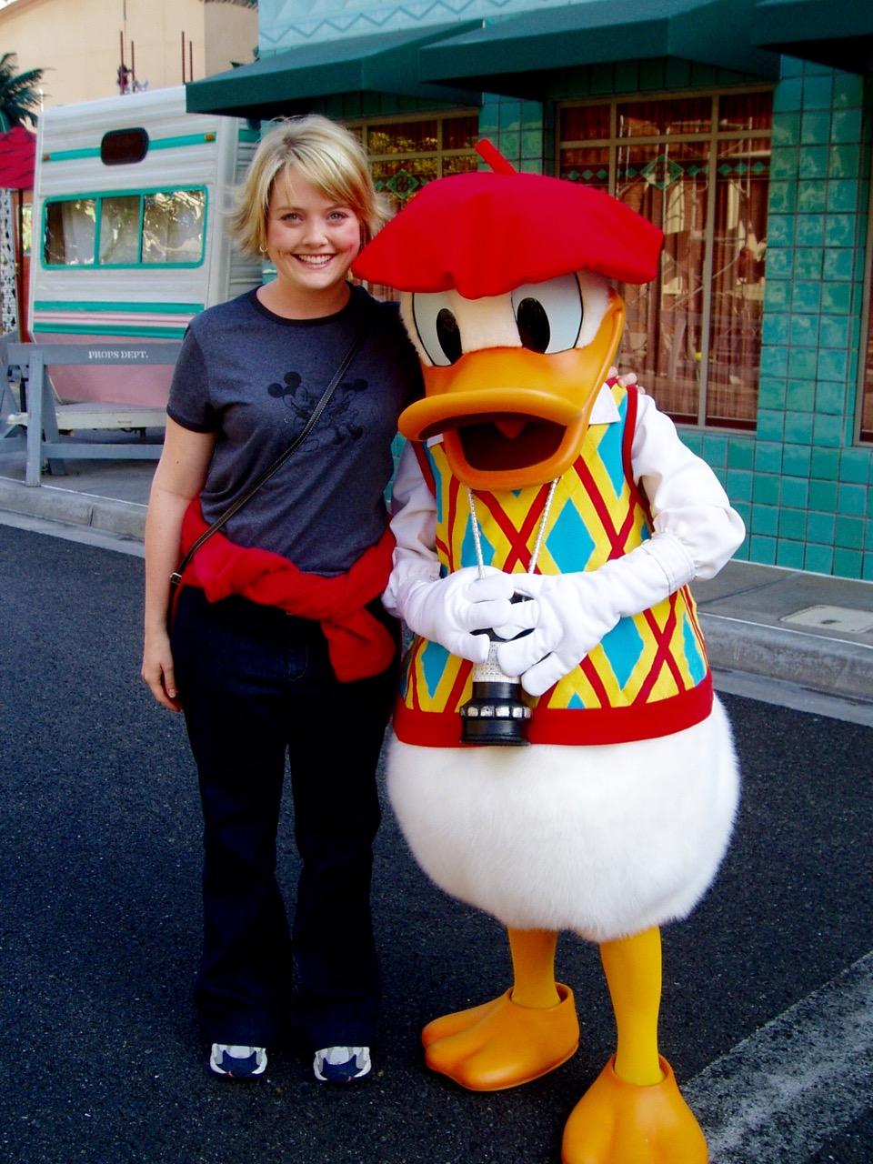 Donald Duck Disney's Californian Adventure Park
