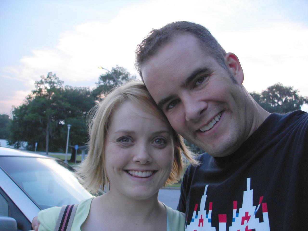 Road Trip 2005 Selfie
