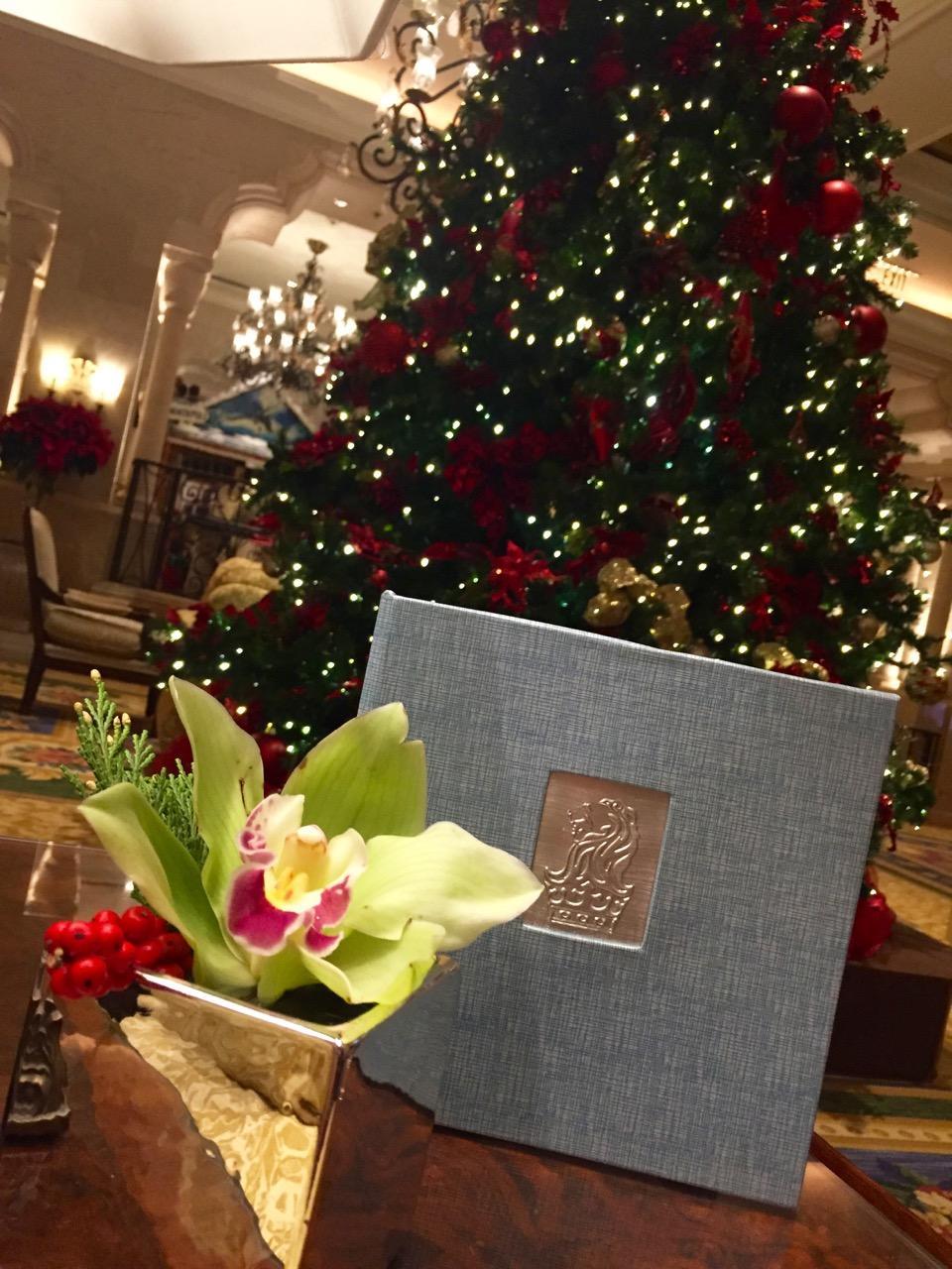 Holidays at the Ritz Carlton Orlando