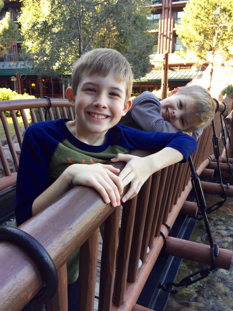 Disney's Wilderness Lodge Bridge