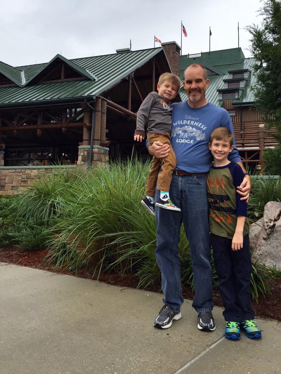 Disney's Wilderness Lodge Check In