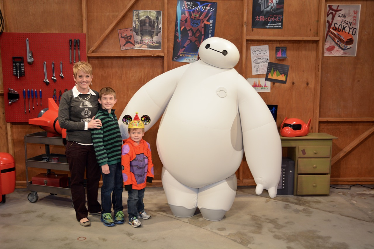 Baymax Meet and Greet Epcot
