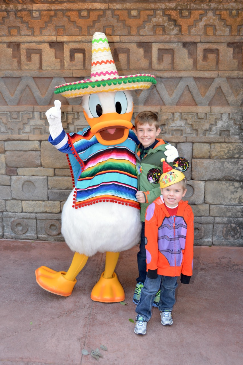 Donald Duck Meet and Greet Epcot