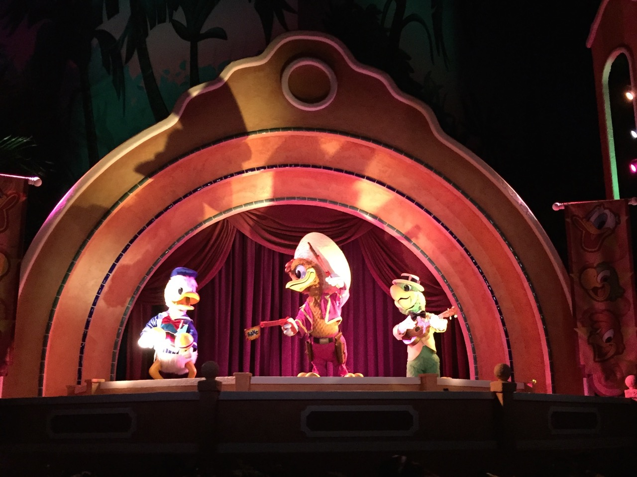 Gran Fiesta Tour Starring The Three Caballeros Animatronics