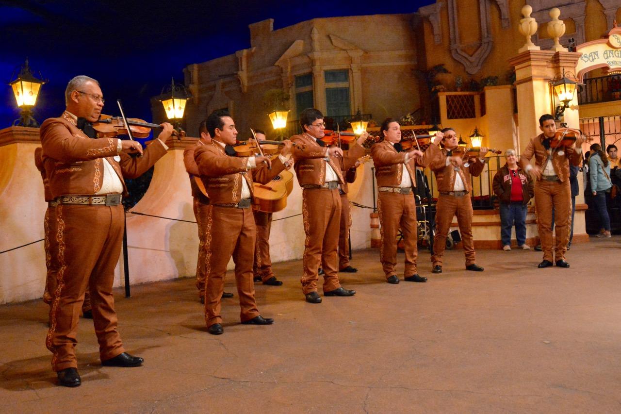 Mariachi Cobre Mexico Band Epcot