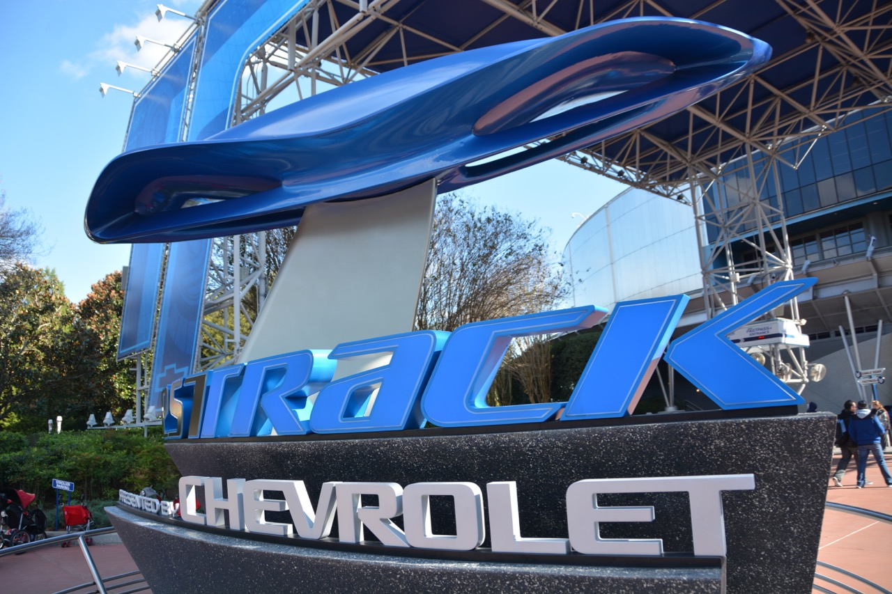 Test Track Attraction Epcot