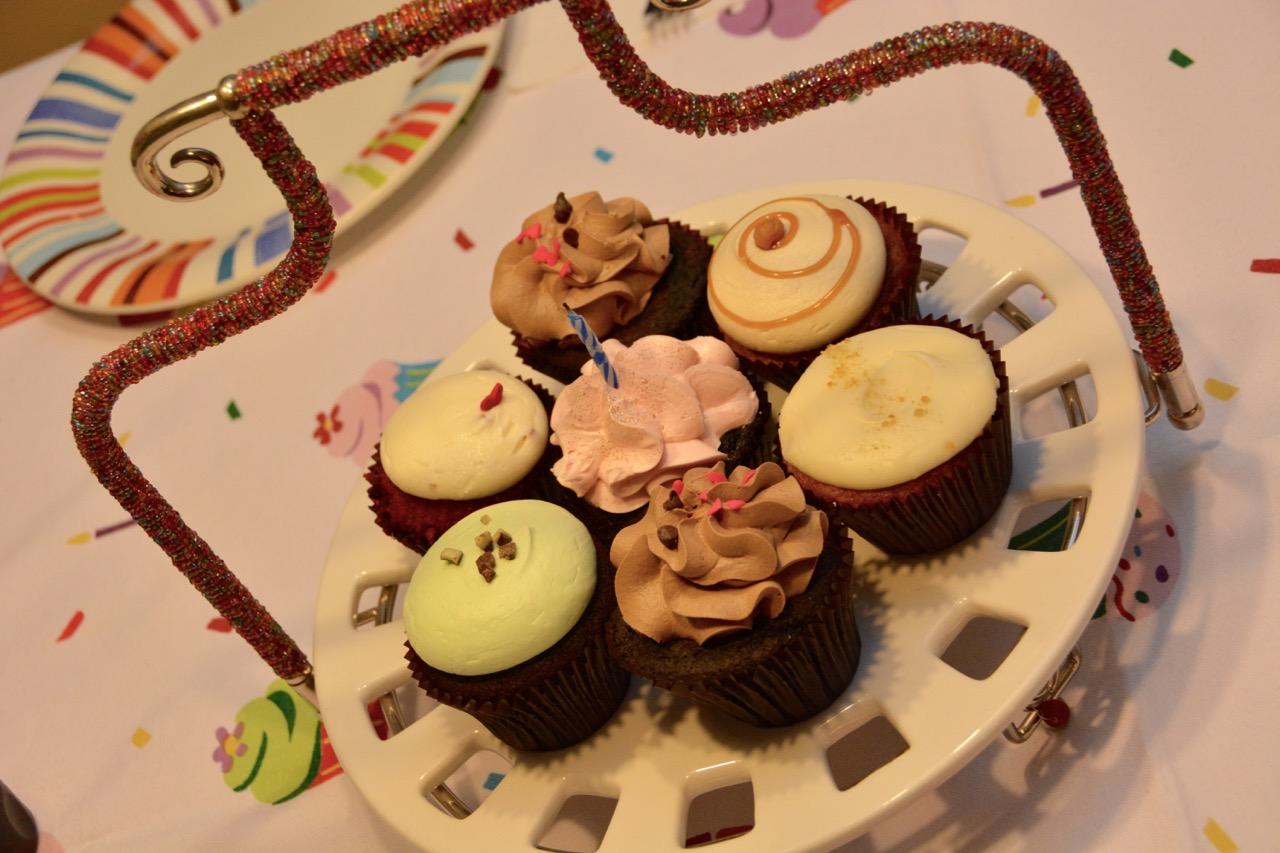 Birthday Cupcakes from BCupcakes Winter Park