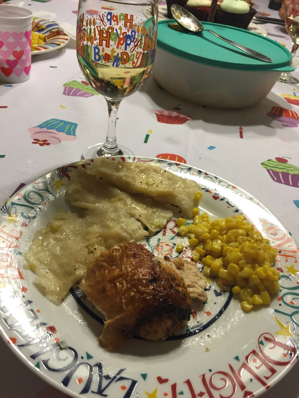 Birthday Dinner and Wine