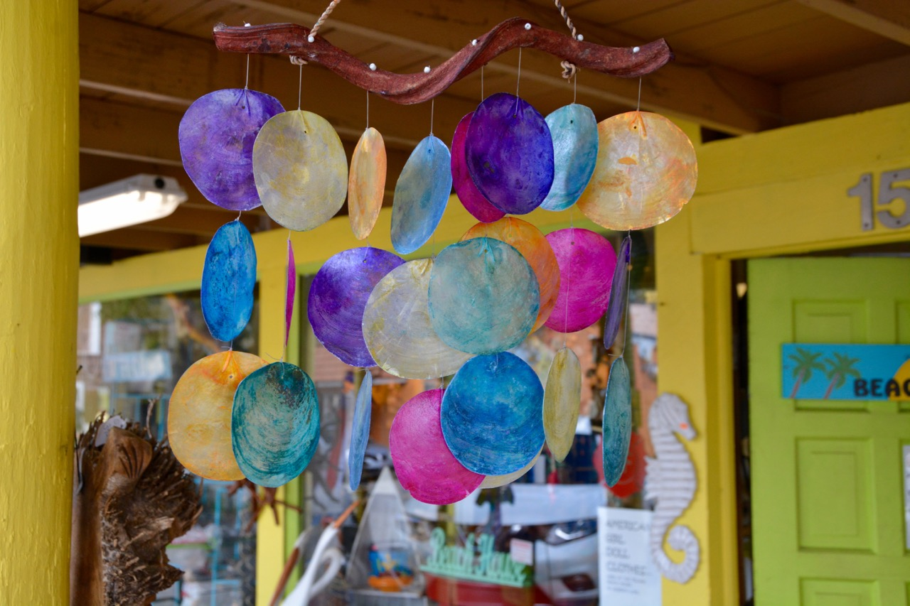 Cocoa Village Shopping Wind Chimes