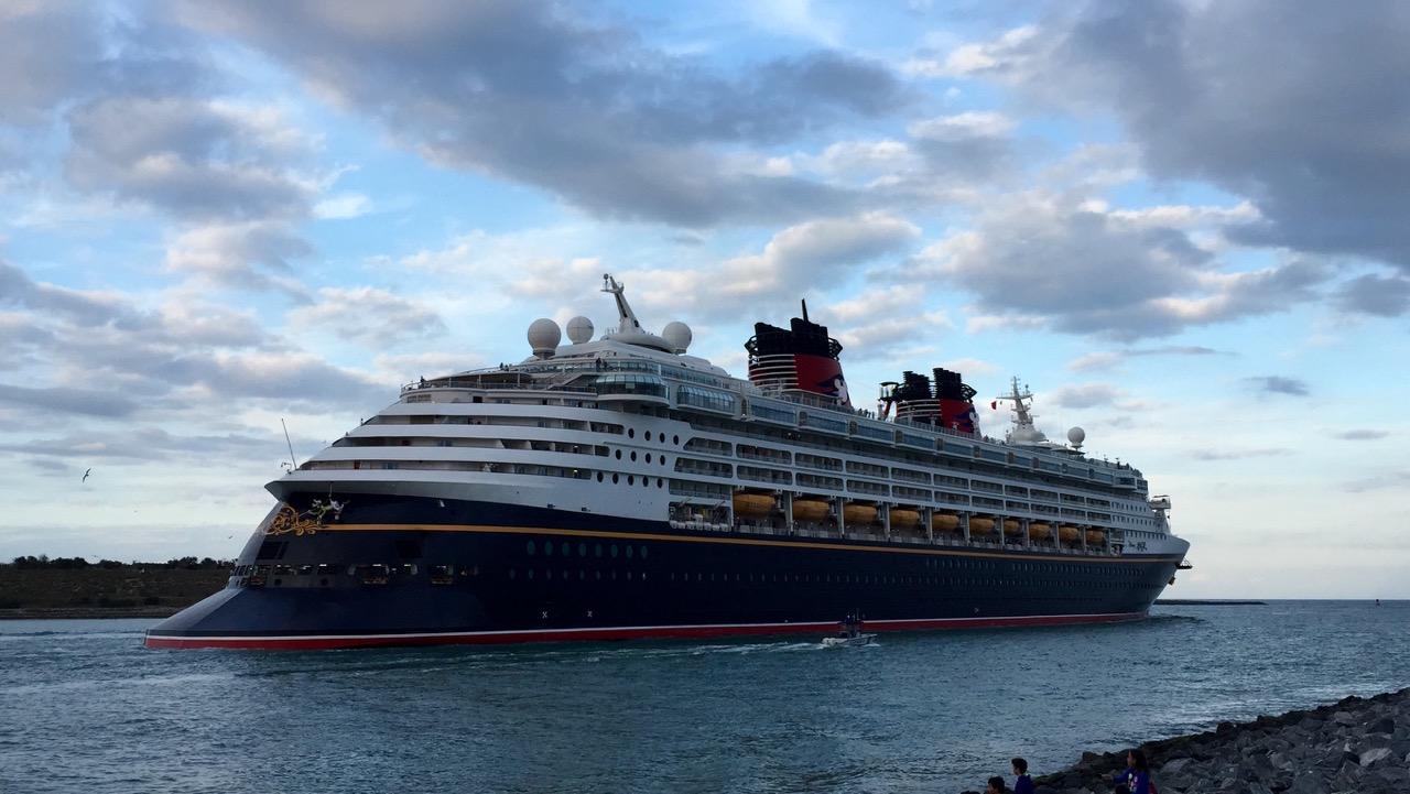 Disney Magic Cruise Ship Departs Port Canaveral
