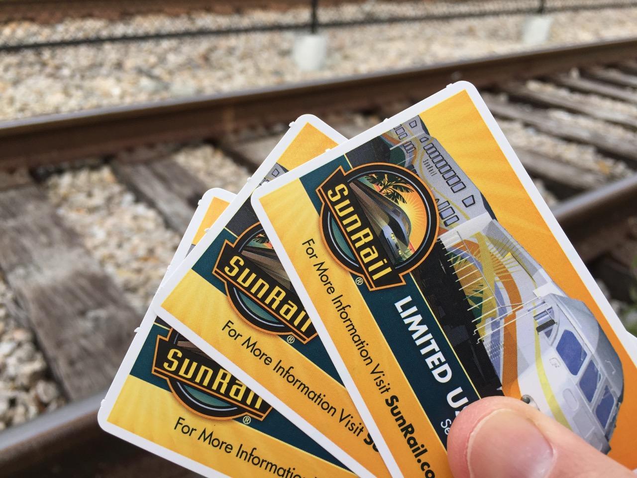 Sunrail Tickets