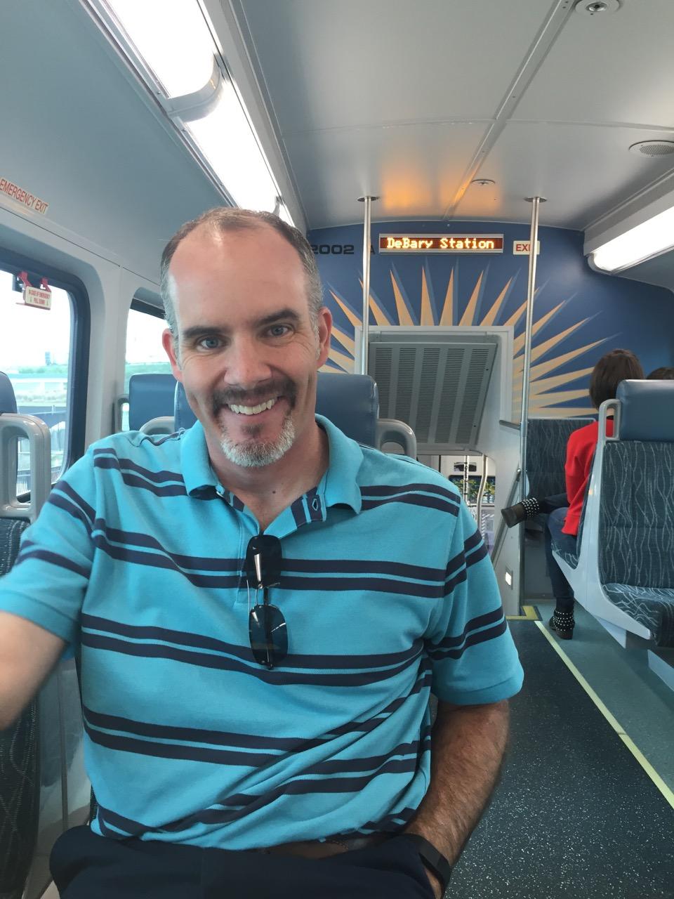 Sunrail Train Second Deck
