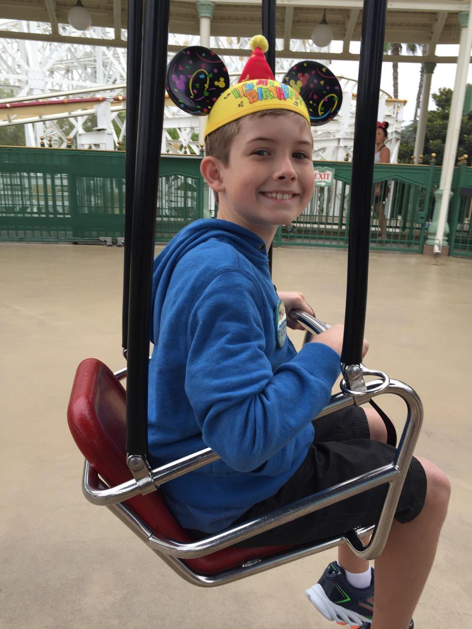 Silly Symphony Swings Disney's California Adventure Park