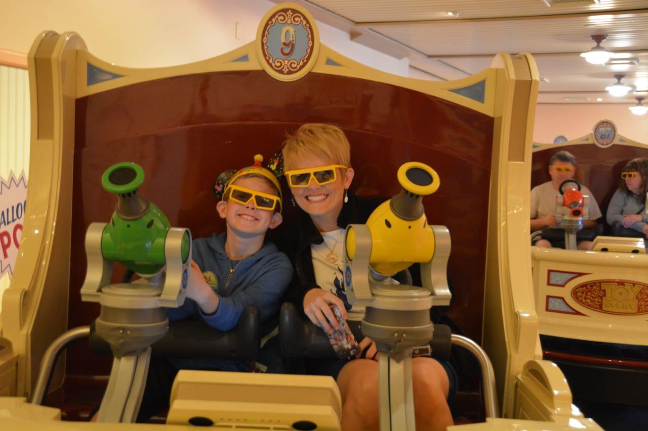 Toy Story Midway Mania Ride Disney's California Adventure