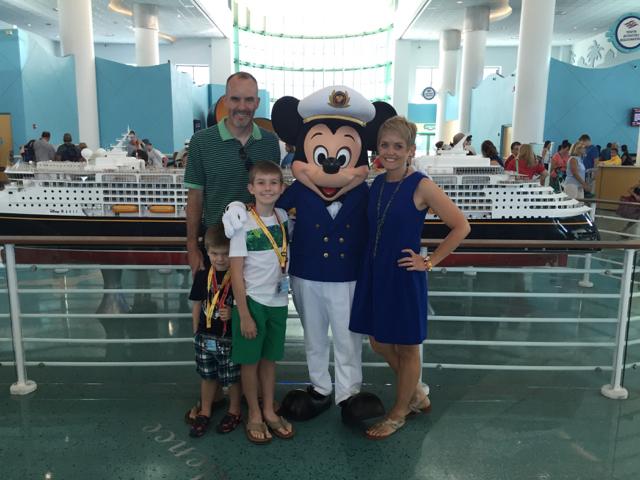 Disney Cruise Terminal Mickey Mouse Photo