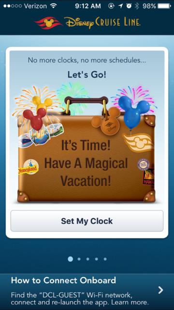 Disney Fantasy Cruise 2016 App Photo