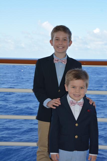 Disney Fantasy Cruise Boys Formal