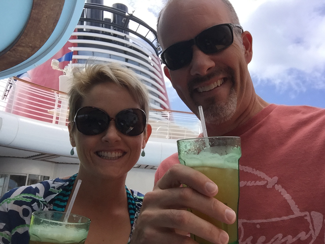 Disney Fantasy Cruise Cove Bar Selfie