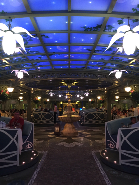 Disney Fantasy Cruise Enchanted Garden
