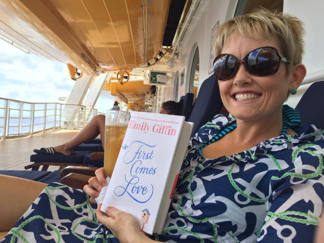 Disney Fantasy Cruise - Enjoying a Good Book