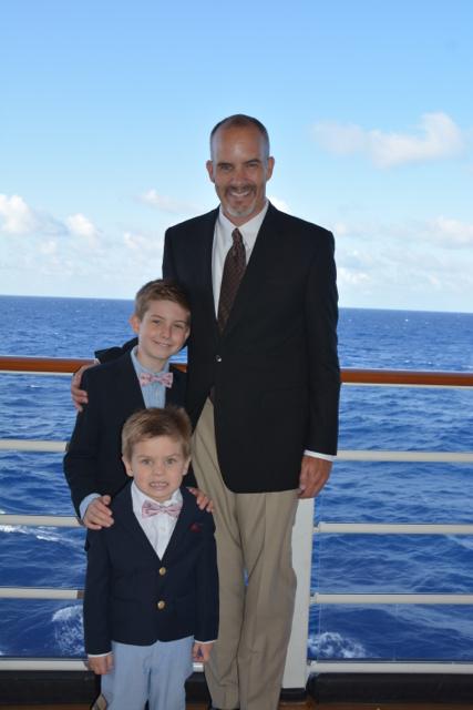 Disney Fantasy Cruise Family Formal