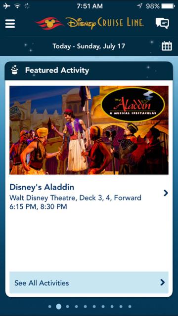 Disney Fantasy Navigator - Disney's Aladdin