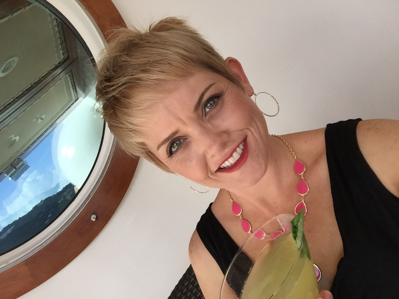 Disney Fantasy Cruise - Meridian Bar Selfie