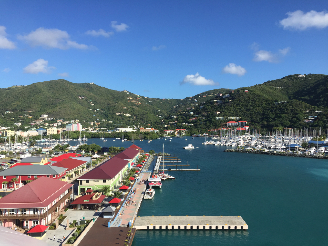 Disney Fantasy Cruise Tortola Island Docks