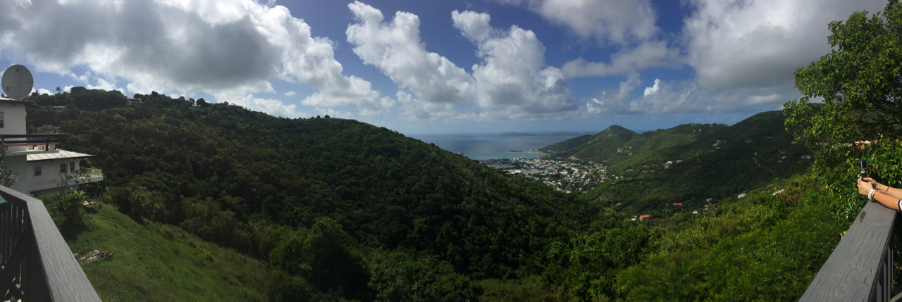 Disney Fantasy Cruise - Tortola Overlook Panoramic