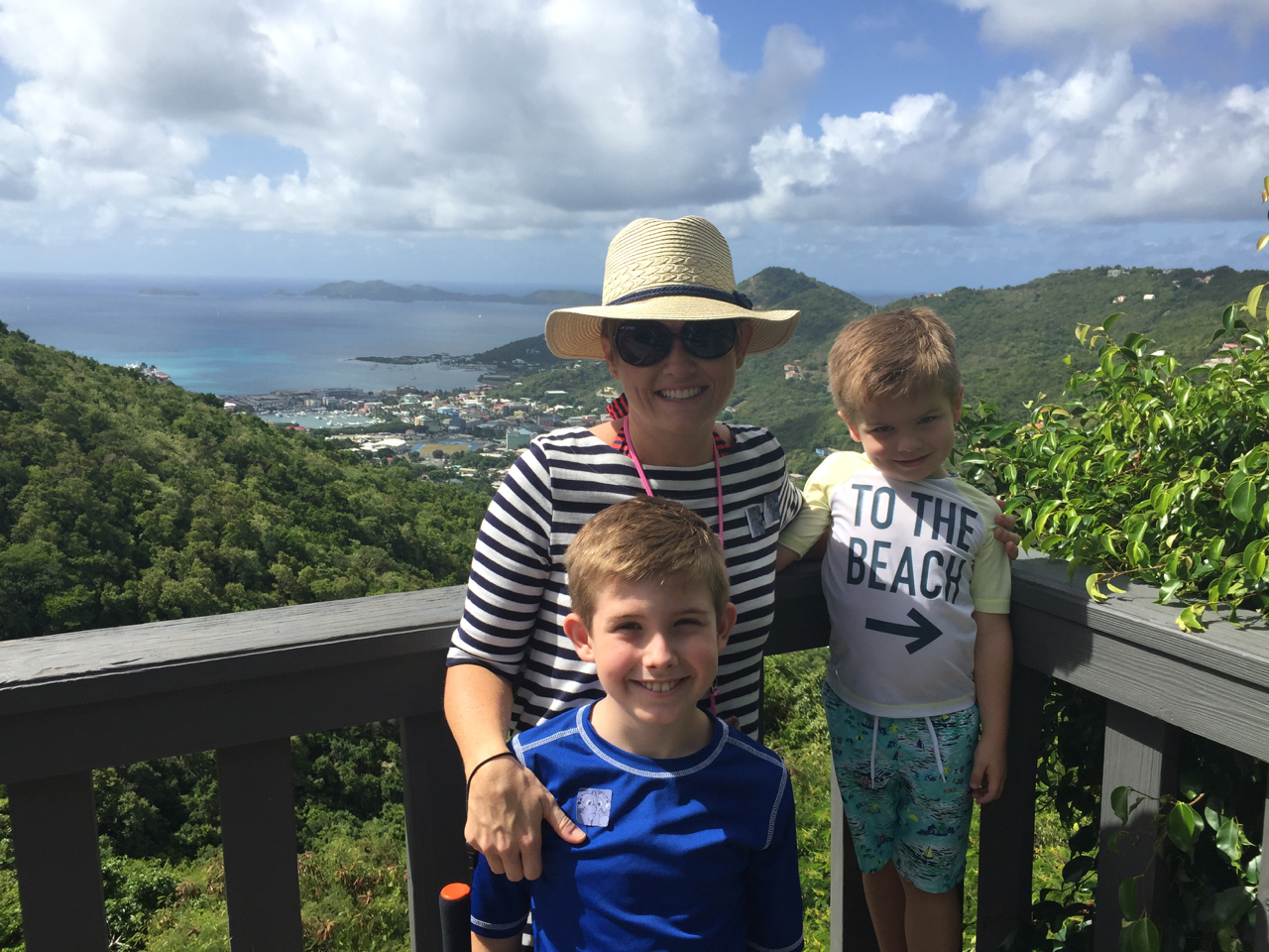 Disney Fantasy Cruise - Tortola Overlook