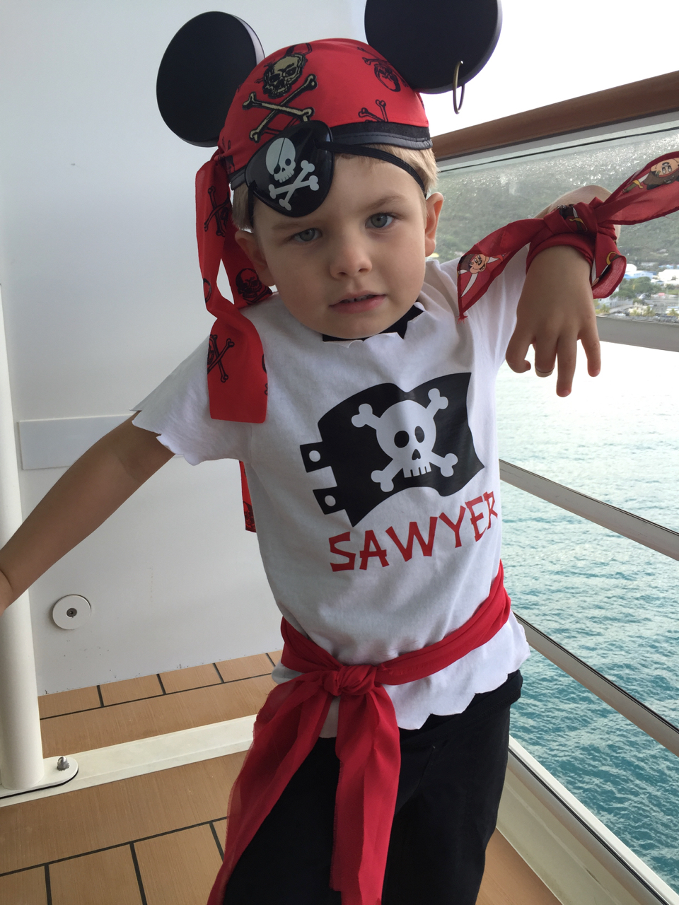 Disney Fantasy Cruise - Tortola Pirate Night