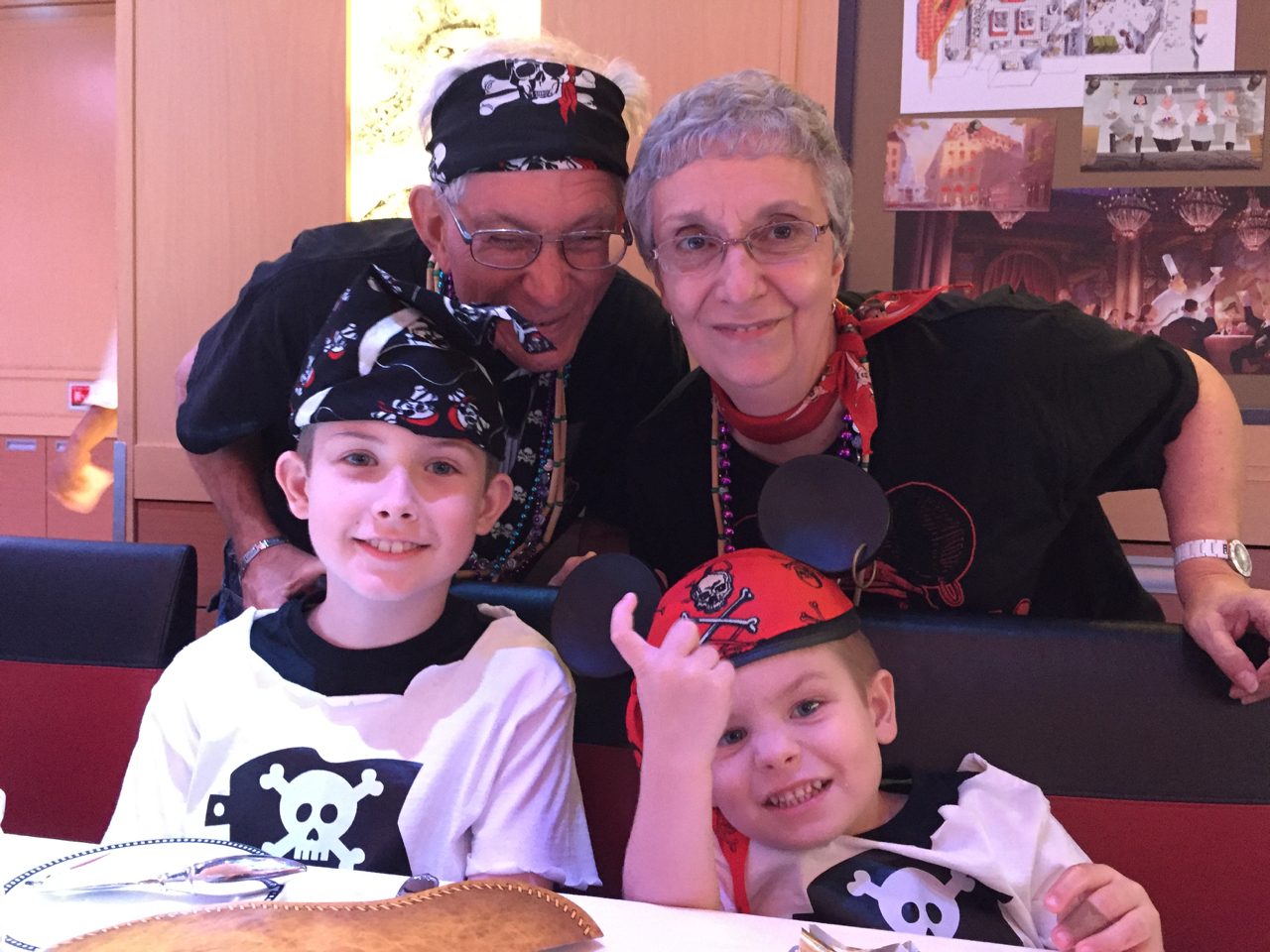 Disney Fantasy Cruise - Tortola Pirate Night Dinner