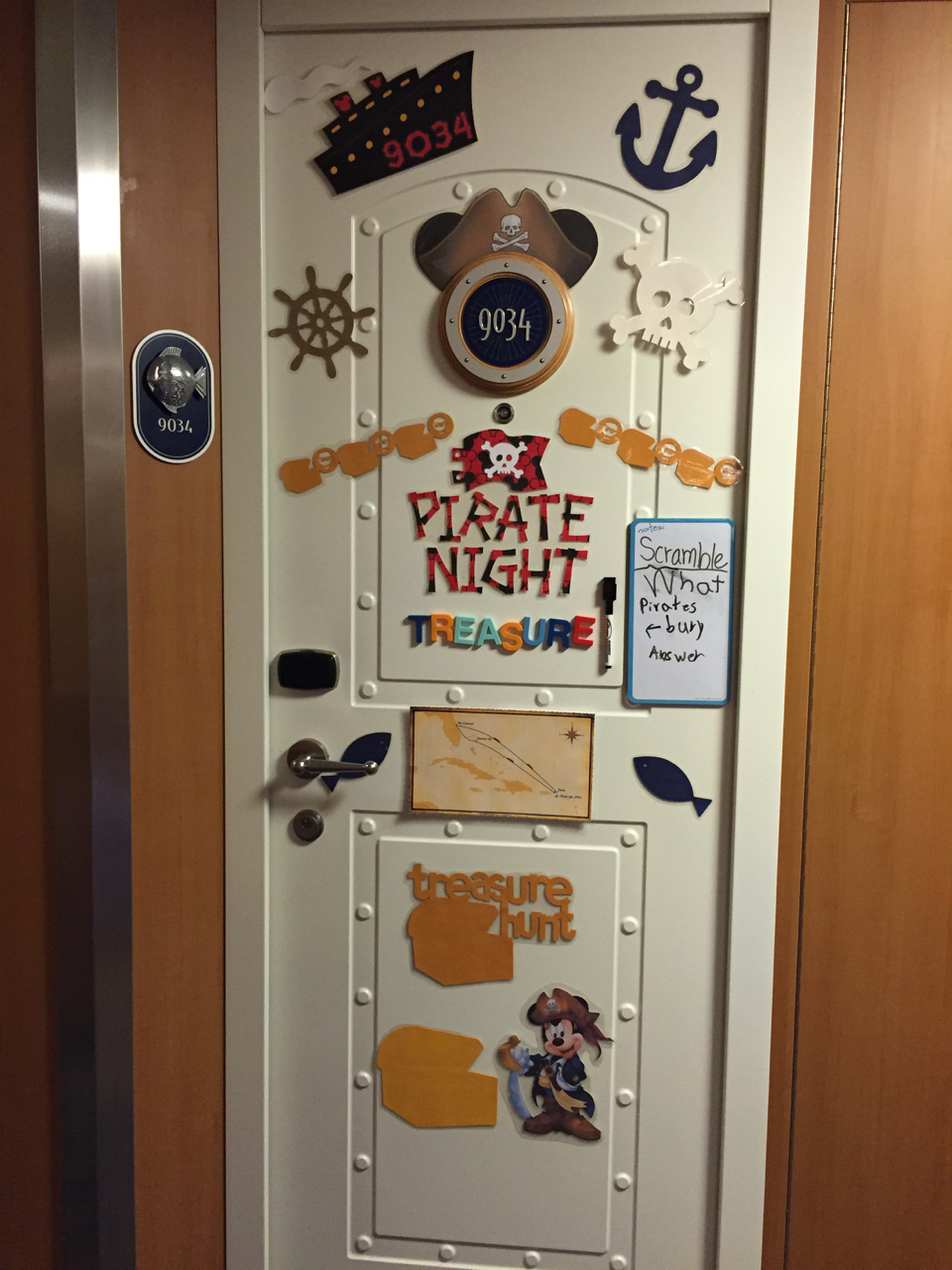 Disney Fantasy Cruise - Tortola Pirate Night Door