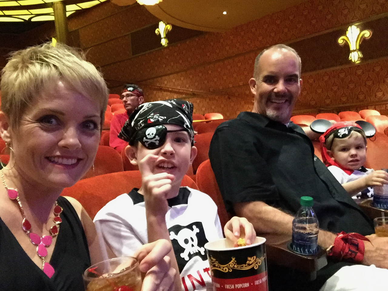 Disney Fantasy Cruise - Tortola Pirate Night Magic Show