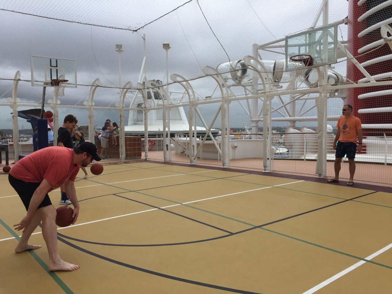 Disney Dream Basketball