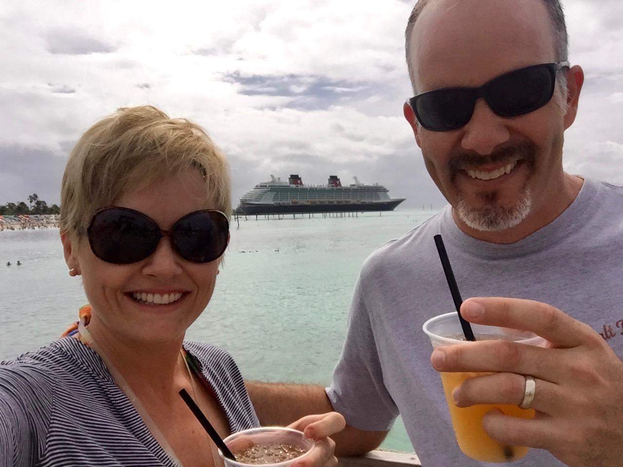 Disney Dream Castaway Cay Head\'s Up Bar Ship View