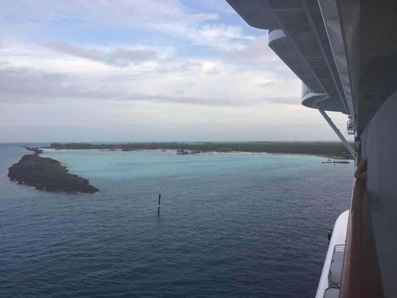 Disney Dream Castaway Cay Island View