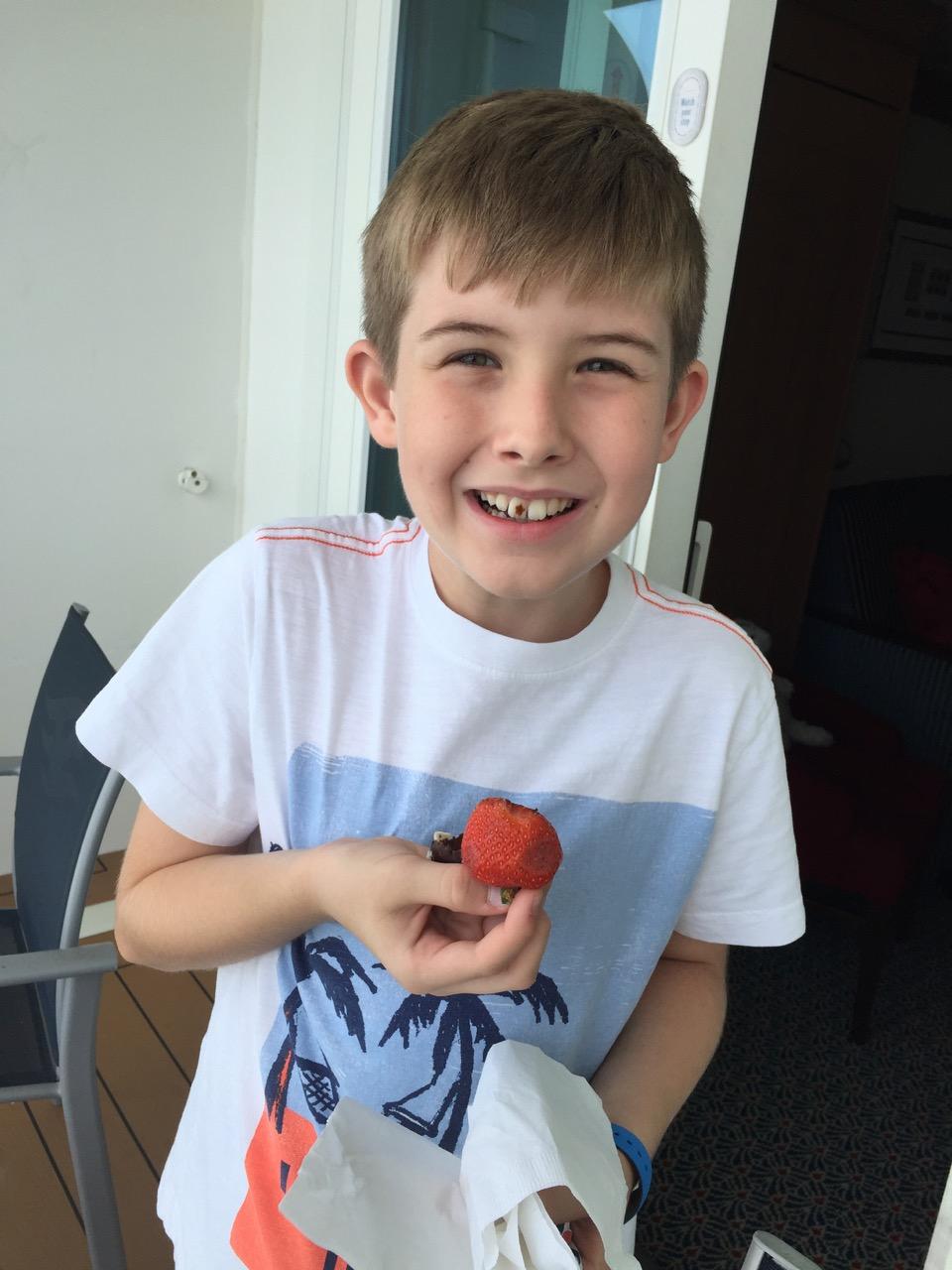 Disney Dream Chocolate Strawberries
