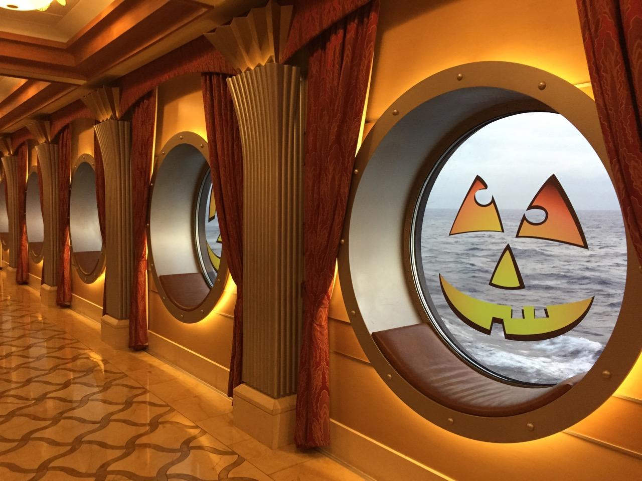 Disney Dream Halloween on the High Seas Decorations