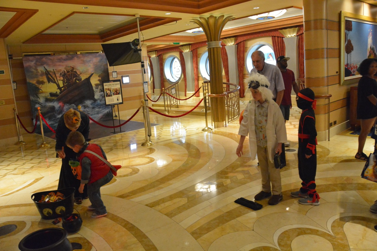 Disney Dream Halloween on the High Seas Games