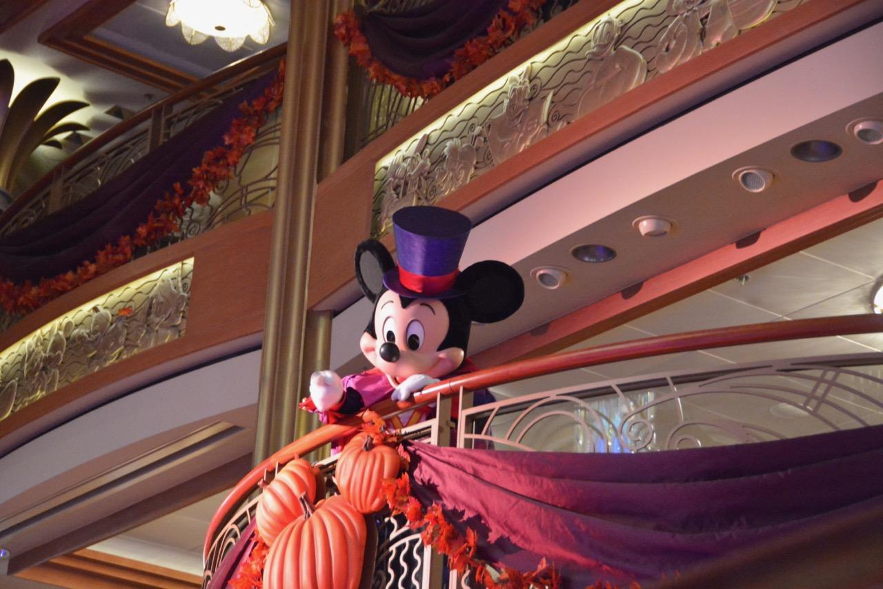 Disney Dream Halloween on the High Seas Mickey