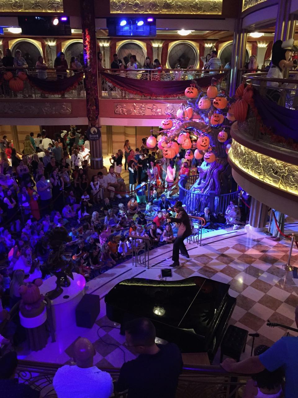 Disney Dream Halloween on the High Seas Show